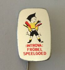 Introva Frobel Speelgoed Kids Toy Retro Pin Badge Vintage Memorabilia (N19)