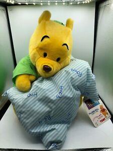 Tomy Winnie The Pooh Pajama Bag Walt Disney Company Plush Stuffed Toy Animal