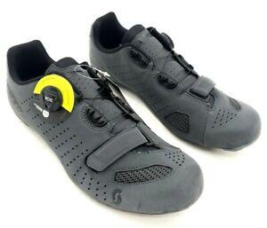 Scott Road Comp Boa Bike Cycling Shoes Gray Reflective Men's Size 40 EU / 7 US
