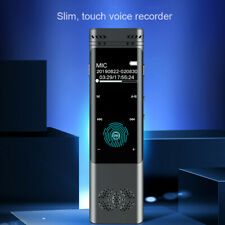 Dictaphone Voice Recorder Mini Audio Mp3 Player Digital Recording Record HD