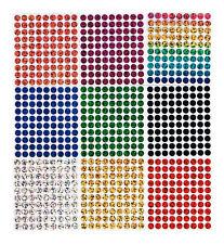 90 Bügelpailletten Hologramm, 6 mm rund, Hotfix Pailletten zum Aufbügeln
