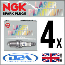 4x NGK PFR6Q (6458) Laser Platinum Spark Plugs For AUDI A4 1.8 09/04-->06/08