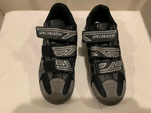 SPECIALIZED BODY GEOMETRY Black Gray Cycling Mountain Road Bike Shoes