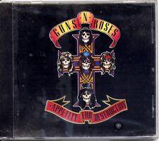 CD - GUN'S N ROSES - Appetite for destruction