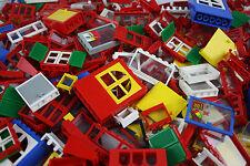 Lego® Fenster und Türen für City Haus insgesamt 25 Stück Sammlung Konvolut