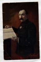 GENERAL Edmond DUBAIL à la lecture , avec Médaille MILITAIRE LEGION D'HONNEUR