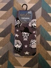Primark Harry Potter Emoji Cosy Socks - Size 4-8 in