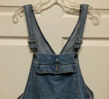 HONORS Women Short Shortalls Overalls Size M Grunge Gardner Carpenter
