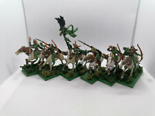 Warhammer Fantasy WHFB AoS Wood Elves Glade Riders PAINTED PLASTIC