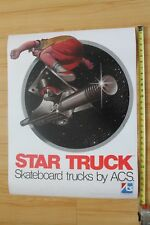 Acs Skateboard Trucks Star Truck Skateboarding Retro Reprint 24x29in. Poster