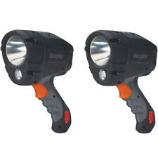 2 Pack Energizer Hard Case LED Spotlight, 600 Lumens, AA Batteries Included