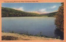 Postcard Chambersburg Reservoir Near Caledonia Park PA