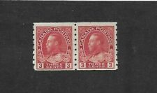 CANADA STAMPS #130 PAIR ( LH) FROM 1912