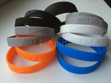 JUST DO IT. Nike baller bracelet jordan nba sport wristband silicone rubber 3D