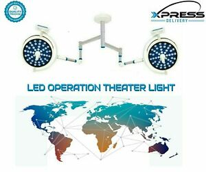 LED Surgical Light Operating Double Satellite Ceiling Operation Theater Lights