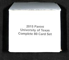 2015 Panini_University of Texas Longhorns_Complete 80 Card Set_Kevin Durant_Bevo