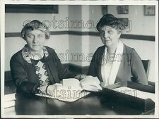 1925 Warden Dr Mary B Harris of New Jersey Press Photo