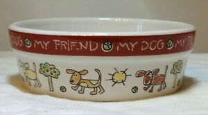 Signature Housewares, Water/Feeding Bowl, Dog, Colour Me Happy, NEW, Size XS