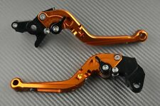 Leviers ajustable / repliable frein embrayage orange CNC Ducati Supersport 620