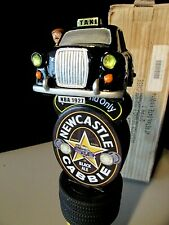 """New 12"""" Newcastle Cabbie Black Ale Taxi Beer Tap Handle Bar Kegerator lot Pull"""