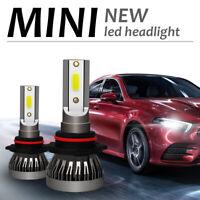 2x 9006/HB4 LED Headlight Kit High Low Beam Bulbs 9000LM 72W 6000K Xenon White