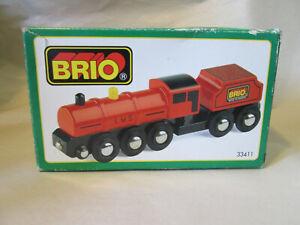 1993 Brio London Midland Scottish Railway Train Set #33411 Sweden Brochure & Box