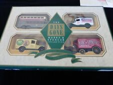Lledo - Marks & Spencer Shop Collection of 4 Die Cast Vehicles - Mint in Box