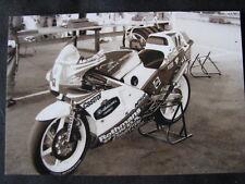 Photo Rothmans Honda NSR250 #3 Dominique Sarron (FRA) Sweden Anderstorp 1987 #2