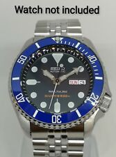Blue Ceramic Bezel Insert for Seiko SKX007 SKX009 scratch resistant