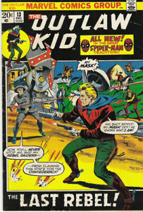 Outlaw Kid #13  VG/FN 5.0  1972 Marvel western