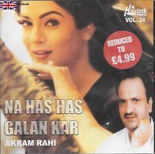 AKRAM RAHI - NA HAS HAS GALAN KAR - BRAND NEW MUSIC CD