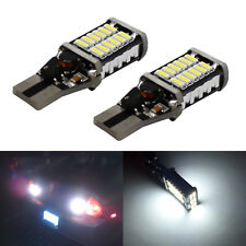 2x T15 921 Canbus LED Bulbs 1500LM 15W 5630SMD Back up Reverse Light Xenon White