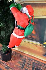 Hanging ON SANTA CHRISTMAS Decoration Indoor Outdoor