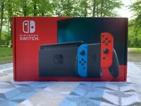 Nintendo Switch 32GB Console w/ Neon Blue/Neon Red Joy-Con. New! Ships today!