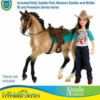 Breyer Natalie Cowgirl Western Rider Doll Classics Freedom Series Model #62025
