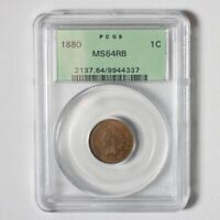 1880 Indian Head Cent PCGS MS64RB *Rev Tye's* #4337300