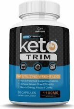 KETO TRIM EXTRA STRENGTH 1 MONTH SUPPLY **FAST SHIPPING**