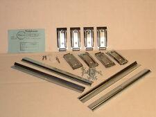1968-1972 Pontiac GTO or 1967 Lemans Rocker Molding Clip Set Complete