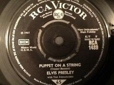 ELVIS PRESLEY . PUPPET ON A STRING  / TELL ME WHY . 1965