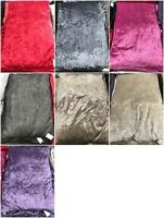 Crushed Velvet Dog Bed Cushion Cover Bed Floor Room Luxury Extra Large