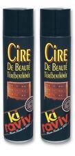 Lot de 2 KIRAVIV cire de beauté térébenthinée - aerosol 400 ml