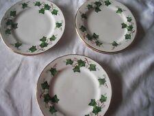 "Colclough IVY LEAF 3 Tea Set Side Plates(6"")"
