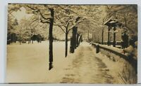 Early 1900's Snow Scene Beautiful Snow Covered Trees Postcard J12