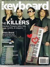 2005 THE KILLERS, CREAMWARE MINIMAX ASB, Korg OASYS Keyboard Magazine Review