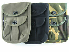 2 Pocket Military Style Camo Utility Storage Pouch Ammo Bag Accessory First Aid