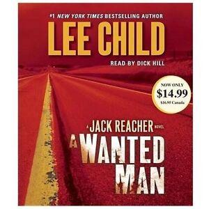 A Wanted Man : A Jack Reacher Novel by Lee Child (CD, Abridged)