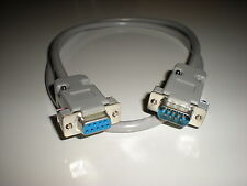 Commodore 128 (80 column mode) 9-pin male to female RGB video monitor cable.