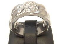 CARTIER Weißgold Ring 750 Gold Brillanten brilliant oro blanco anillo bague or