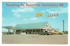 Stuckey's Snacks Pecans Texaco Gas Station Interstate 80 Iowa Nebraska Postcard
