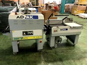 Adpak FP560a Auto L-Sealer with T450 Shrink Tunnel - PRICE INCLUDES VAT